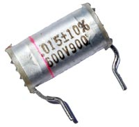 0.015uF .015 uF 600V Radial Paper Capacitor ITW