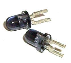 Infrared 3mm T1 LED Emitter SFH 409-2 SFH409 Osram