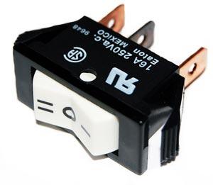 Rocker Switch 16A 250Vac 160412E1095 Eaton