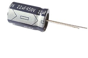 22uF 450V Radial Electrolytic Capacitor