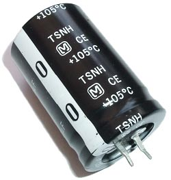 3300uF 50V Radial Snap In Electrolytic Capacitor Panasonic TSNH Series