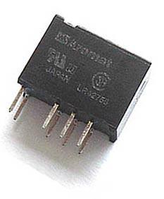 12 VDC PCB Mount Relay Aromat TW2E-12V-H10