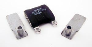 30W 0.5 .5 ohm Flat Wire Wound Resistors IRC FRW-20