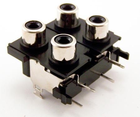 YKC21-0062  YKC21 Right Angle Pin Jack