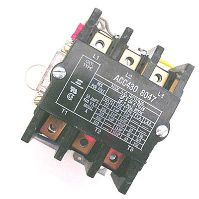 50A 600VAC Relay Arrow ACC430 8047