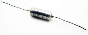 10uF 35V 10% Axial Tantalum Capacitors Sprague 150D106X9035