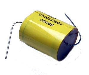 10uF 160V Axial Film Capacitor CW10UJ160