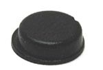 Black Round Self-Adhesive Rubber Feet Small Bumpers 9.5mm X 3.2mm