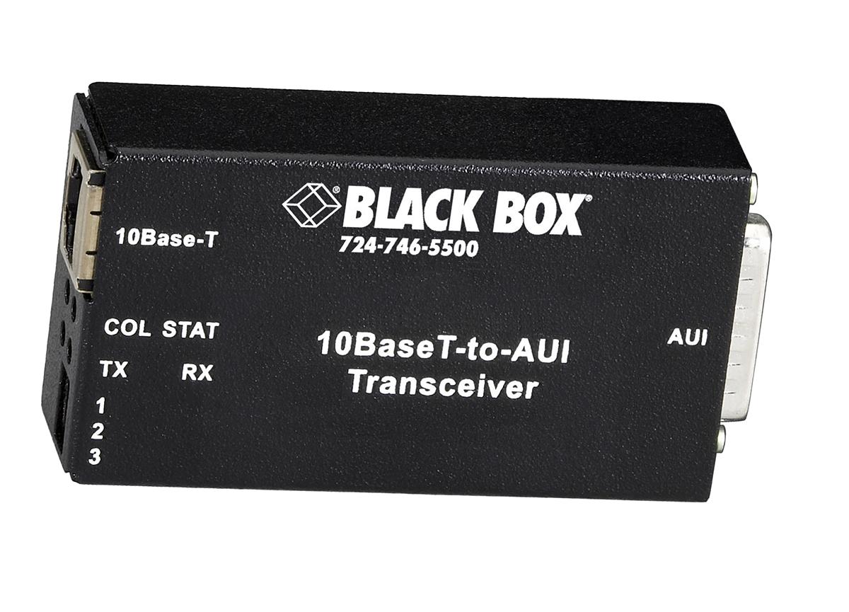 LE180A 10BaseT-to-AUI Transceiver