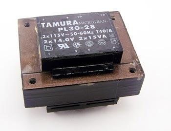 PL30-28 Tamura Microtran Low Profile Transformer