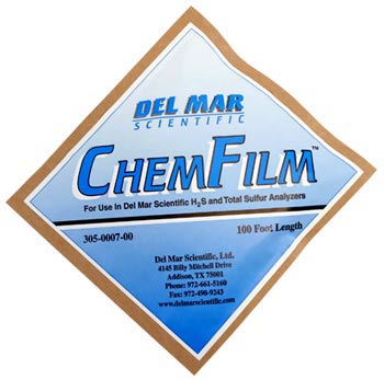 ChemFilm Sensing Tape 305-007-00 Del Mar Scientific