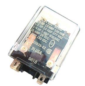 13A 24VDC Coil Relay Deltrol Controls DPDT 20939-82