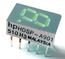 7 Segment LED Display Green Common Anode HDSP-A901