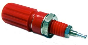 Red Binding Post Connector 27-735