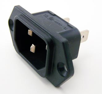 6100.3300 Appliance Inlet Coupler Connector