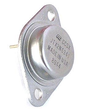 2N6341 JTX2N6341 25A Bipolar Military NPN Transistor