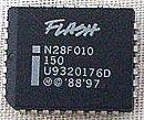 N28F010-150 Intel Flash Memory EEPROM PLCC IC