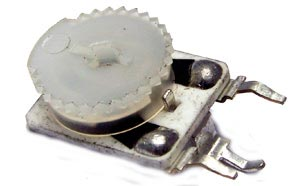 10K ohm Thumbwheel Potentiometer Ceramite