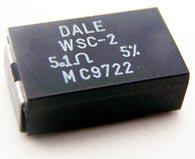 Power Wirewound Resistor  SMT 2W 5.1 ohm WSC-2