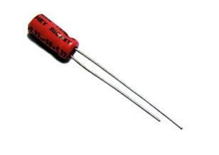 0.33uF .33uF 50V Radial Electrolytic Capacitor