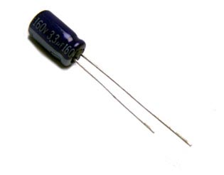 3.3uF 160V Radial Electrolytic Capacitor