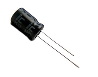 3.3uF 350V Radial Electrolytic Capacitor 335RMR350M
