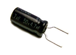 4.7uF 50V Radial Electrolytic Capacitor 2038-034-36478