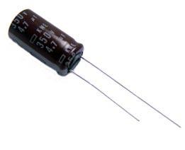 4.7uF 350V Radial Electrolytic Capacitor KME Series