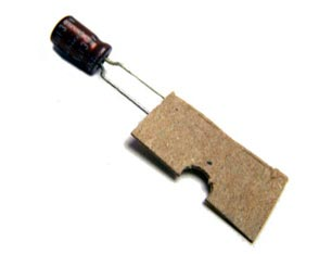 6.8uF 35V Mini Radial Electrolytic Capacitor