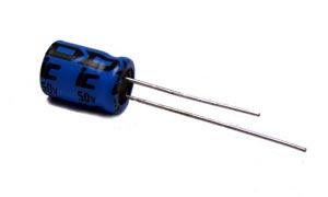 10uF 50V Radial Electrolytic Capacitor 106RLR050M