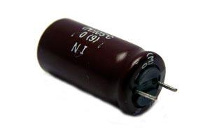 10uF 250V Radial Electrolytic Capacitor KME Series