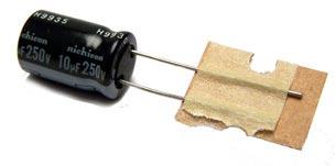 10uF 250V Radial Electrolytic Capacitor UVZ2E100MPH1TD