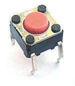 Momentary Tact Switch 24Vdc 6mm B3F-1005