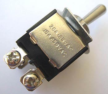 Toggle Switch 20A 20 Amp 125VAC Heavy Duty On-Off