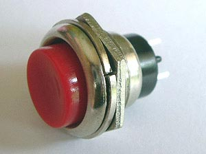 Push Button Momentary Switch 4A 4 Amp 125VAC Off On SPST