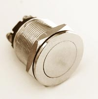 Push Button Momentary Switch 4A 125V Flush Flat Top