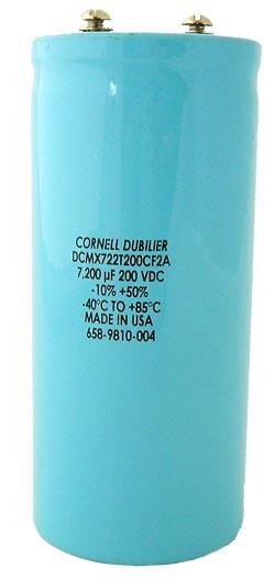 7200uF 200V Computer Grade Aluminum Electrolytic Capacitor DCMX722T200CF2A