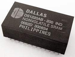 DS1220AB-200 16K Nonvolatile SRAM IC Dallas
