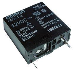 5A 12V PCB Relay SPST-NO Omron G5PA-1-2-DC12