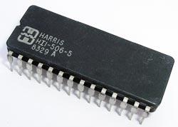 HI1-506-5 Socket Pull CMOS Multiplexer IC Harris