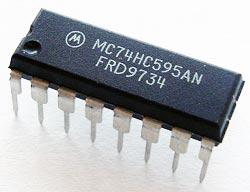 74HC595AN MC74HC595AN Gate CMOS IC Motorola