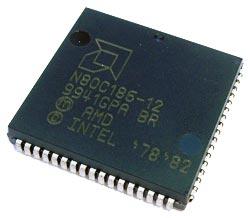N80C186-12 N 80C186 12 CMOS 16 Bit IC AMD