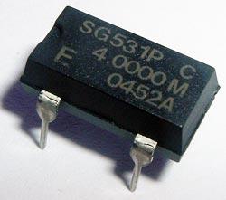 4.0000MHz 4MHz Crystal Oscillator Epson SG531P4MHZ