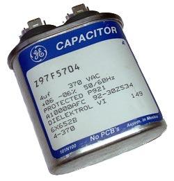 4uF 370VAC Motor Run Capacitor General Electric Z97F5704