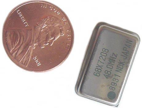 48MHz 48.0Mhz Crystal Oscillators 68X7208