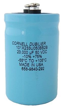23000uF 50V Computer Grade Capacitor CDE 101X233U050BB2B
