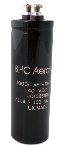 10000uF 40V Computer Grade Capacitor BHC Aerovox ALS10A103AC040