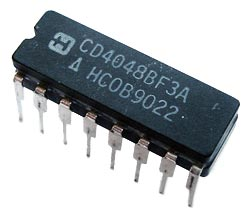 CD4048BF3A CMOS Multi Function Gate IC Harris