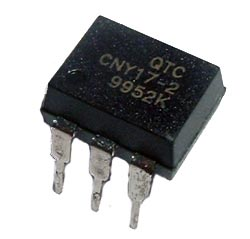 CNY17-2 Phototransistor Optocoupler QT Optoelectronics