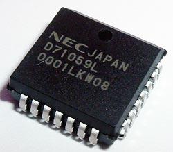 D71059L UPD71059L Interrupt Control Unit IC NEC